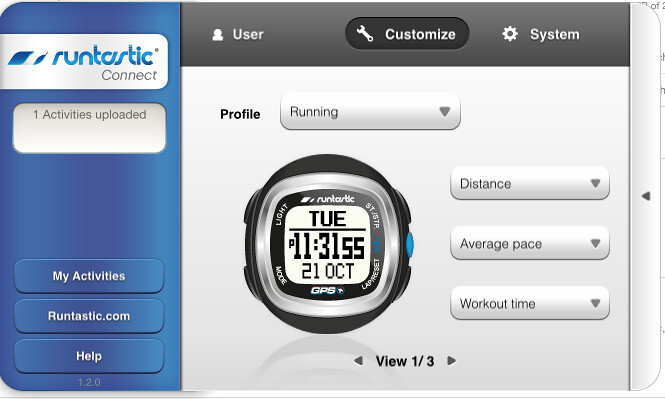 The Runtastic Connect for MAC