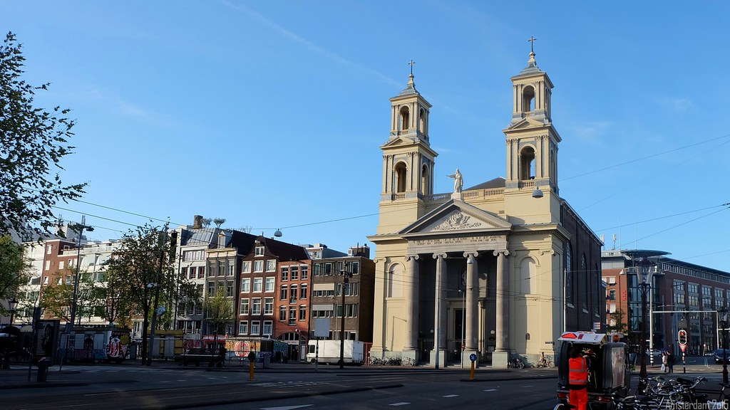 "Sant""Egidio, Waterlooplein, Amsterdam, Nederland"