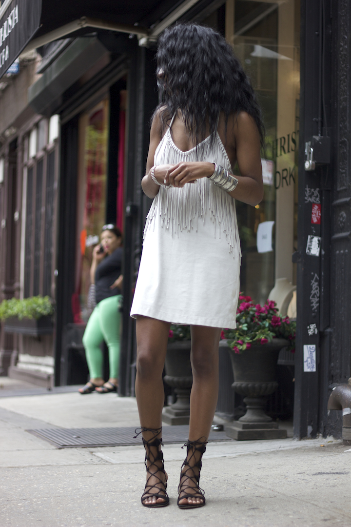 Zara Fringe Dress