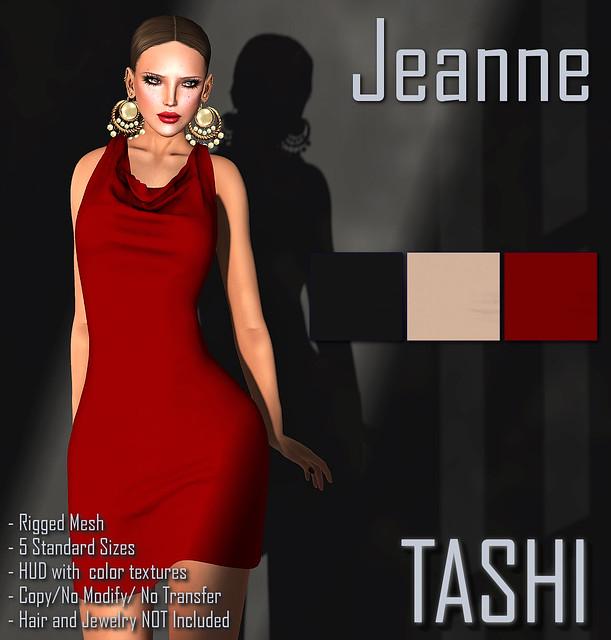 TASHI Jeanne