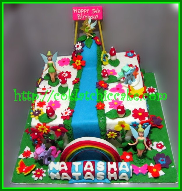 Cake my little pony dan tinkerbell