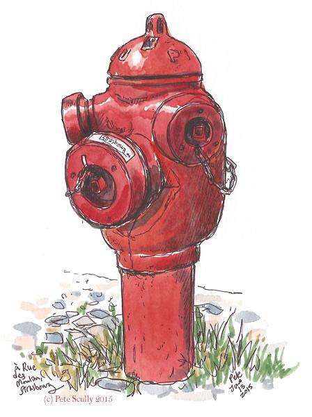 Strasbourg Hydrant 1 sm
