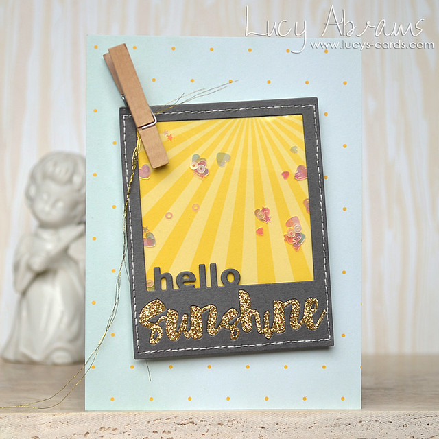 Hello Sunshine Shaker by Lucy Abrams