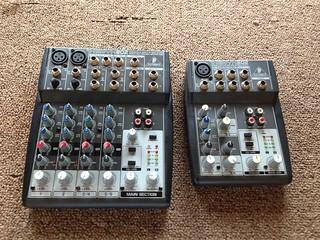 Behringer Xenyx 802 / 502 mixers