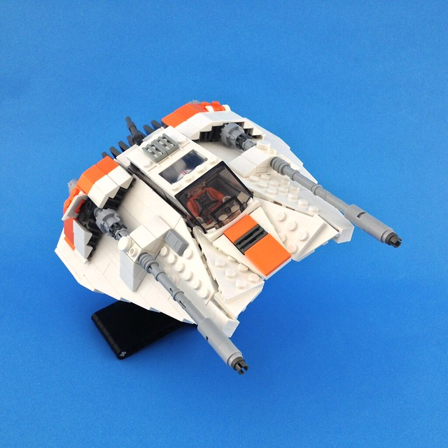 T-47 Airspeeder, by LiLmeFromDaFuture, on Eurobricks
