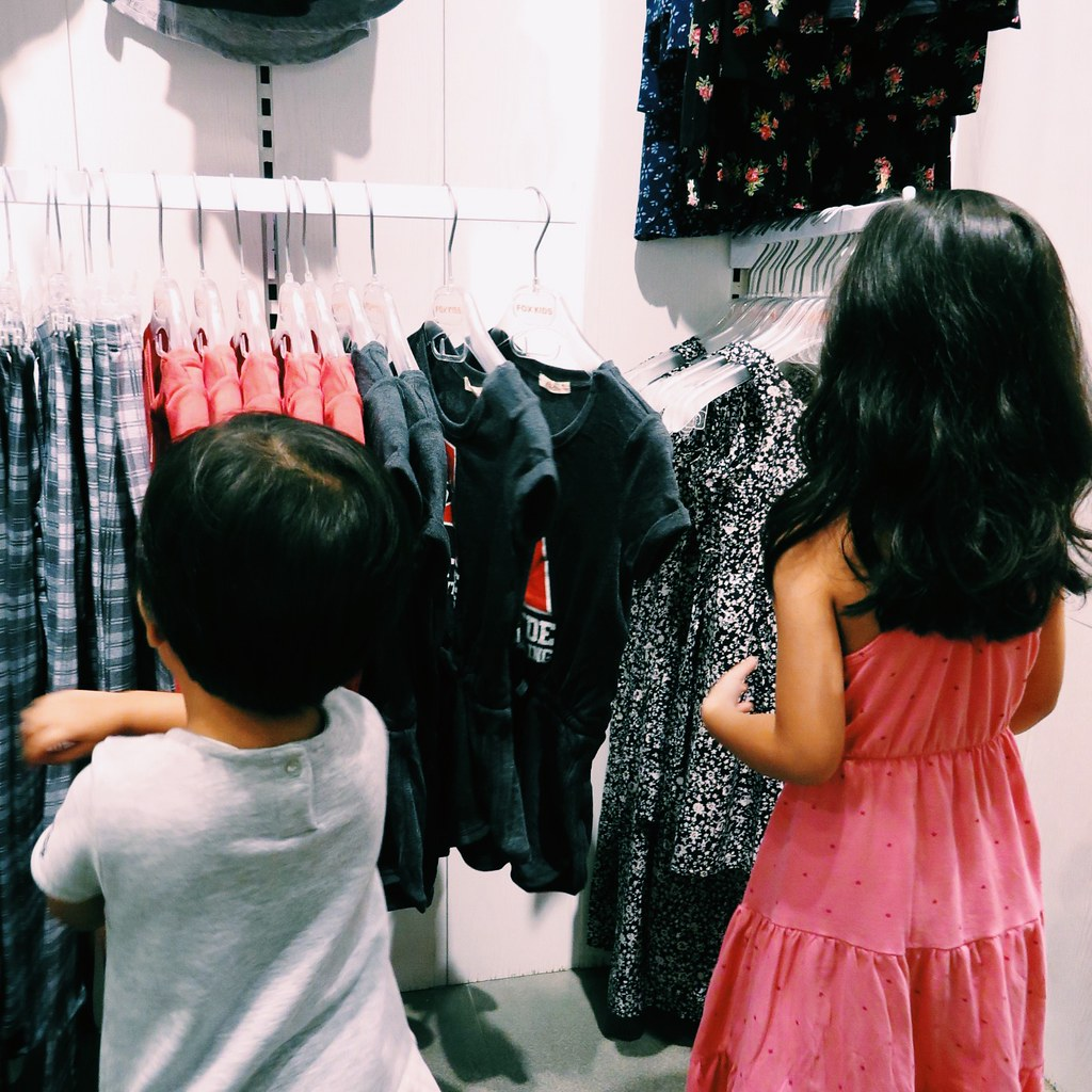 Ayra and Zara at FOX Kids & Baby Fall Winter 2015 preview