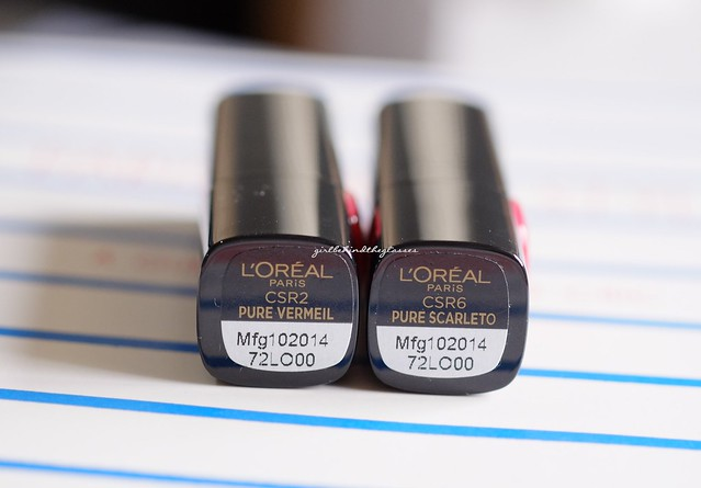 L'Oreal Color Riche Collection Star Matte Reds3