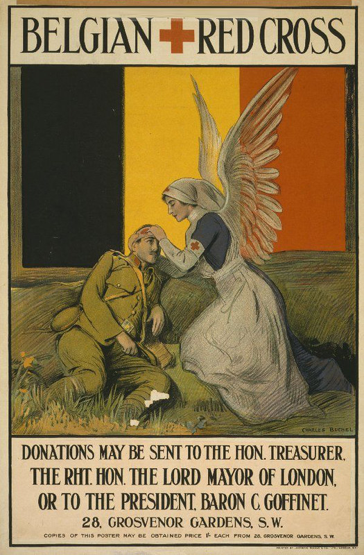 cartel-cruz-roja-belgica-1-guerra-mundial
