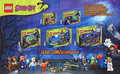 LEGO Scooby Doo 75900 Mummy Museum Mystery ins04