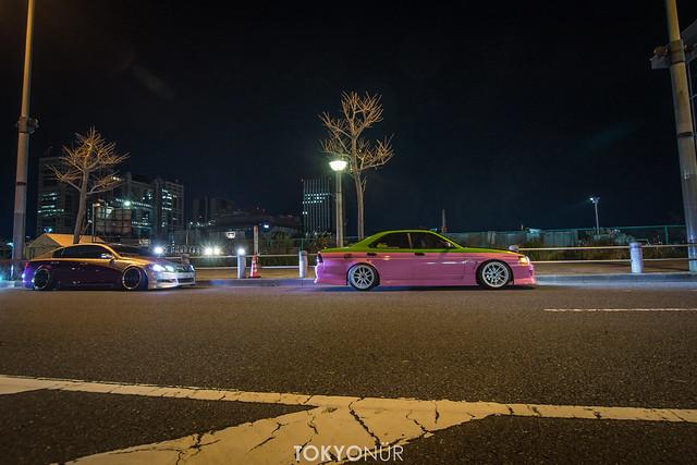 Lame Squad // Team Freee's in Odaiba Drift Cho-Tengoku 2016