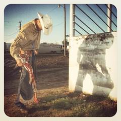 Chad Eubank Cowboy Bullrider Cleburne Texas Rodeo Arena 111SE