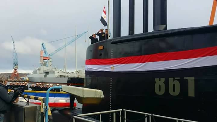 غداً ... رفع العلم المصري علي الغواصة Type 209/1400  وإعلان انضمامها للقوات البحرية المصرية  31483187451_14966db49b_b