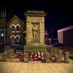 Cenotaph, Burslem, Stoke on Trent.