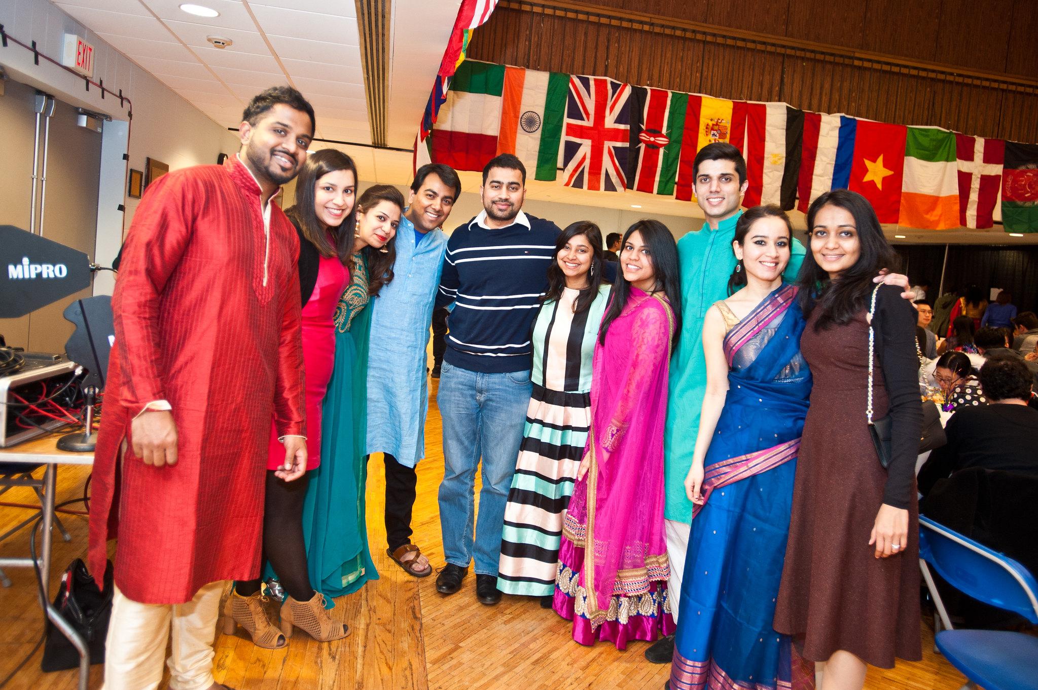 South Asian Students at Global Gala 2017