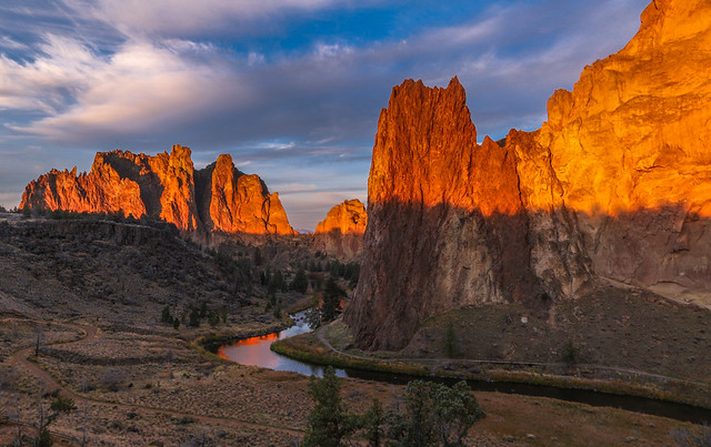 Smith Rock Sunrise in Central Oregon