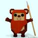 LEGO Wicket the Ewok by bruceywan