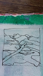 Sketch for a tapestry