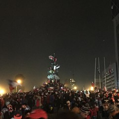 La celebración de Chile campeón de América