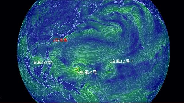 2010703 15:00時点の風の動き
