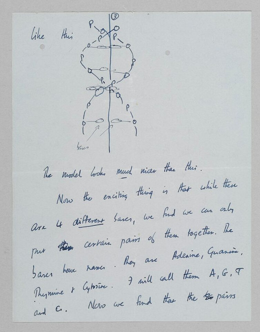 source the letters of note book reprinted by permission of the family of francis h c crick