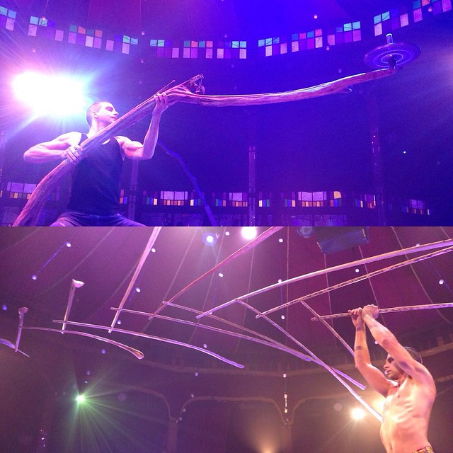 Graffiti Guy in 3D. Spintop on Driftwood and Sanddorn Branch Balance. #spiegelworld #empire #quebeccity