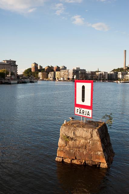 Färja / Hammarby sjö