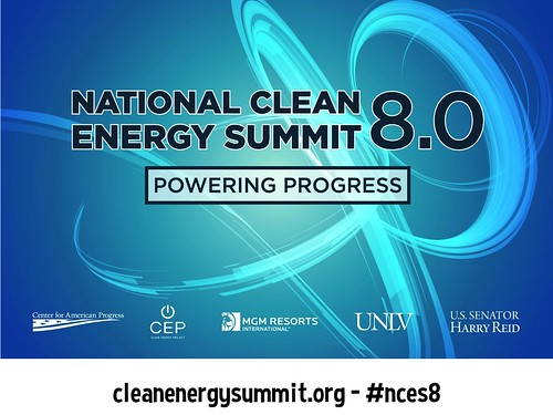 Streaming Live from Las Vegas August 24: National Clean Energy Summit @cleanenergyNV #nces8