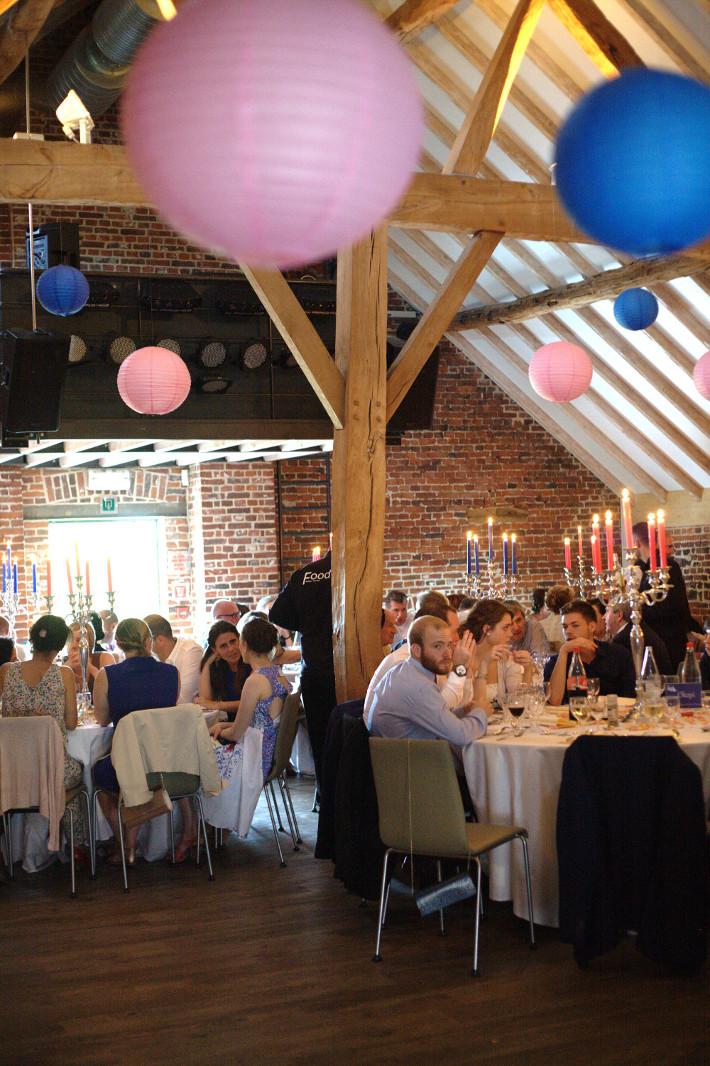 barn attic wedding