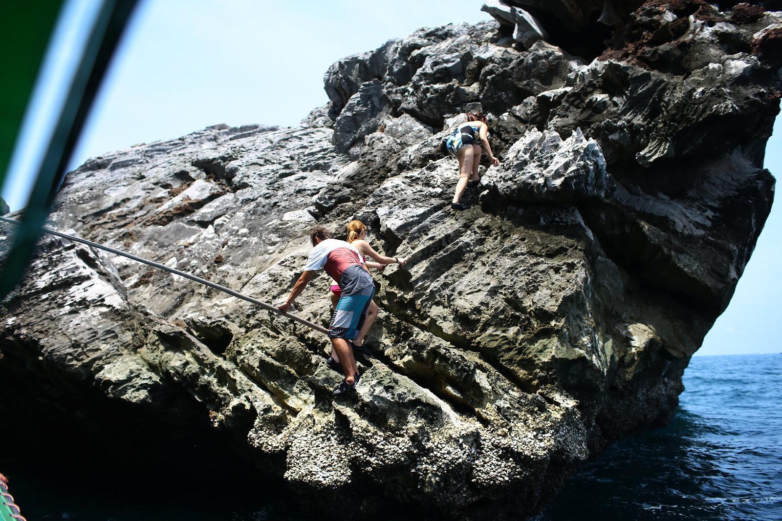Bungee jumping koh phi phi