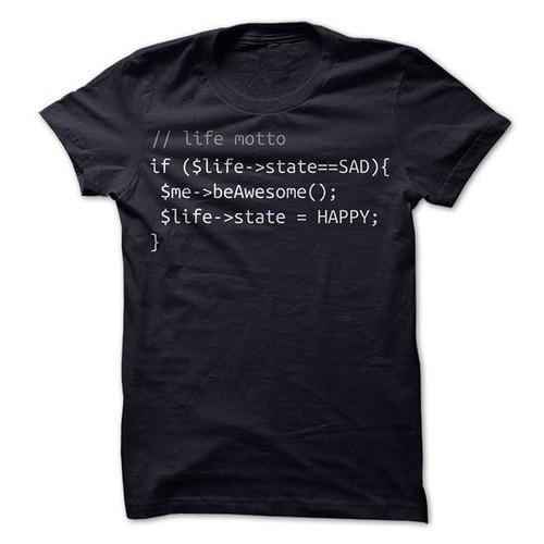 kaos dengan kode