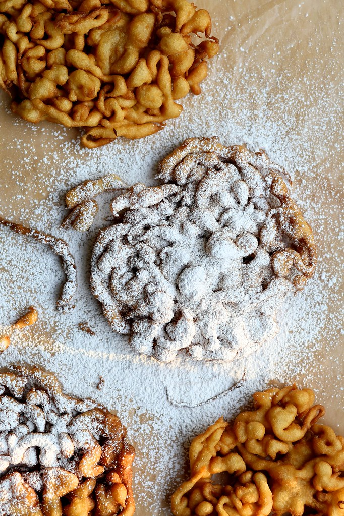 Cinnamon Sugar Funnel Cake