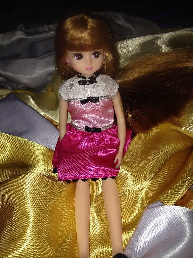 Fetish barbie satin