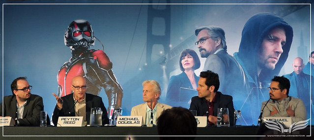 The Establishing Shot: PEYTON REED ADDRESSES THE TONE OF ANT-MAN @ THE ANT-MAN EUROPEAN PRESS CONFERENCE - CORINTHIA HOTEL LONDON