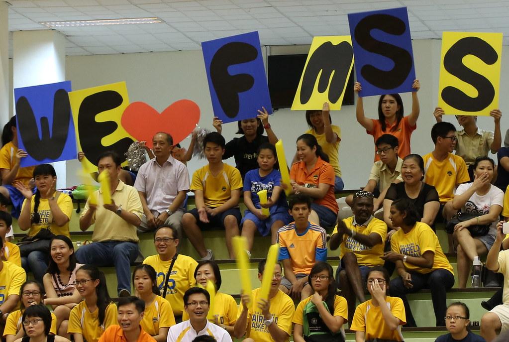 South Zone C Division Boys Basketball Championships Final 2015 : Fairfield Methodist vs Raffles Institution