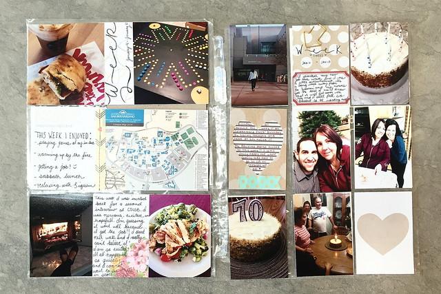 jasmine's pocket scrapbook // project life :: january 2015