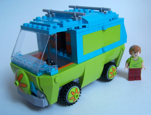 LEGO Scooby Doo Mystery Machine no stickers