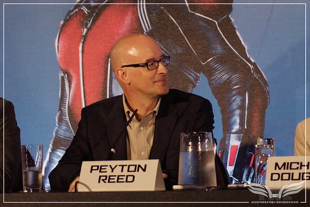 The Establishing Shot: PEYTON REED - ANT-MAN EUROPEAN PRESS CONFERENCE - CORINTHIA HOTEL LONDON