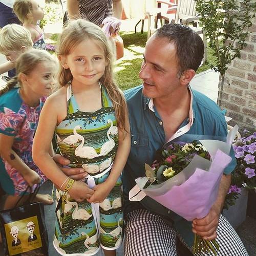Janne met haar Peter Pieter.