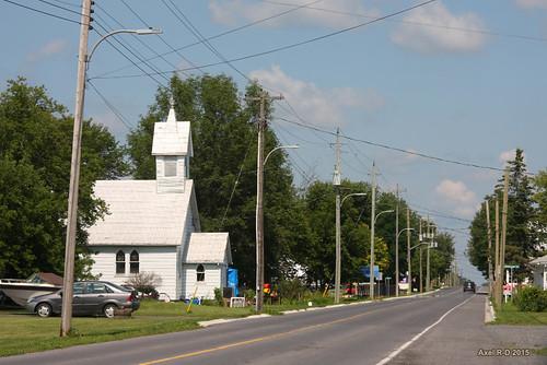 ontario église bâtiment monkland