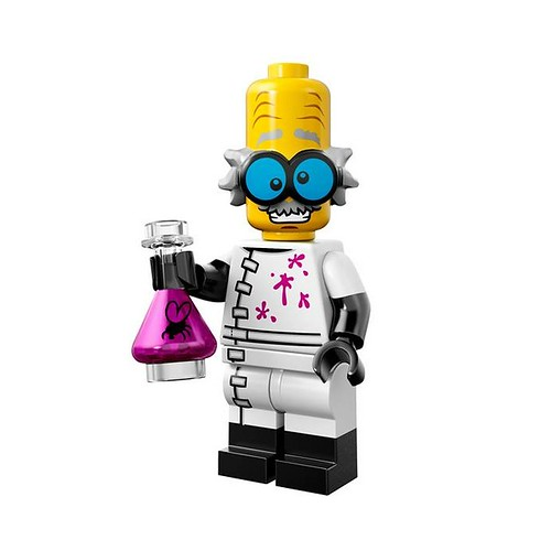 LEGO 71010 Collectible Minifigures Series 14 03 - Monster Scientist