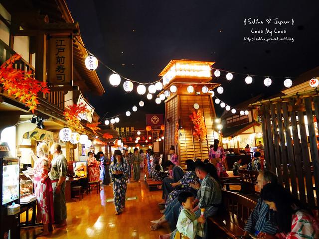 大江戶溫泉物語餐廳美食街吃飯 (42)