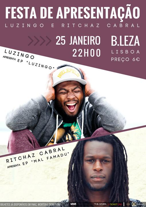 Luzingo & Ritchaz Cabral_Flyer B.Leza