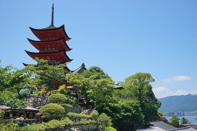 豊国神社 五重塔