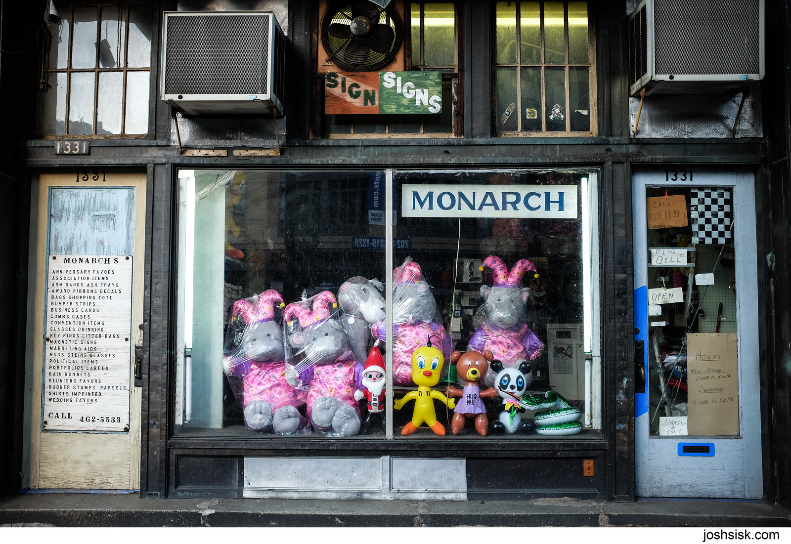 Monarch Novelties, DC.