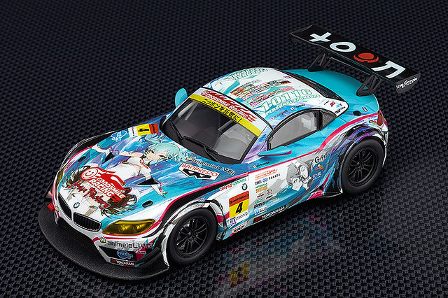 SUPERGT GT300冠軍! GOOD SMILE 初音未來 BMW 2014優勝Ver.