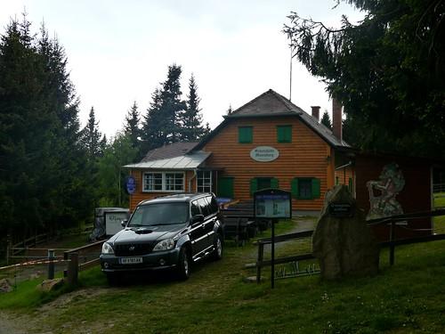 Frühere Kernstockhütte / Former Kernstock hut
