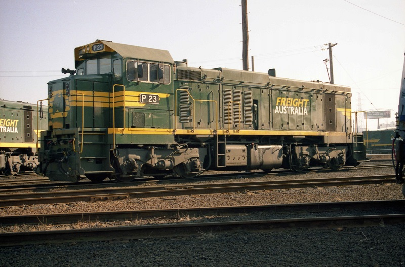 Freight Australia P class by David Arnold