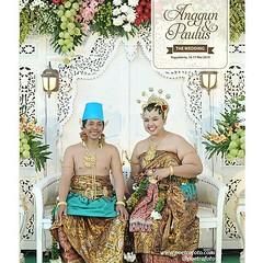 Love this bride & groom. Happy wedding forever for Anggun & Paulus. Wedding day at Yogyakarta. Wedding photo by @Poetrafoto, website: http://wedding.poetrafoto.com 👍😊😗