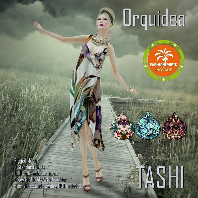 TASHI Orquidea