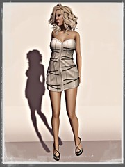SOC - DOLLARBIE Dress & shoes for slink high feet